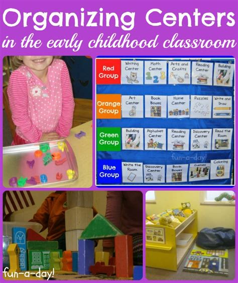 centers in preschool organizing centers in the early childhood classroom 178