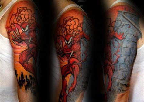 carnage tattoo designs  men comic book