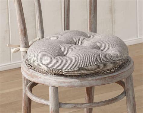 galette pour chaise galette de chaise ronde matelassée décoration maison