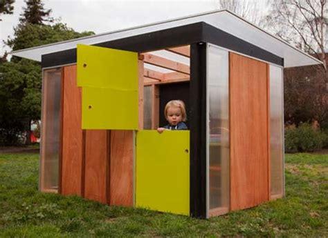 kiddo prefab play house kids prefab shed