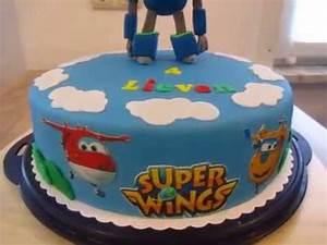 Super Wings Torte : super wings jerome torte geburtstags torte fondant cake ~ Kayakingforconservation.com Haus und Dekorationen