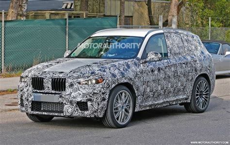 2019 Bmw X3 M Spy Video