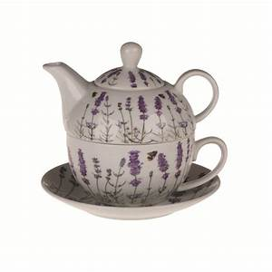 Tea For One Set : teapot cup saucer tea for one gift set english norfolk lavender ceramics ~ Orissabook.com Haus und Dekorationen