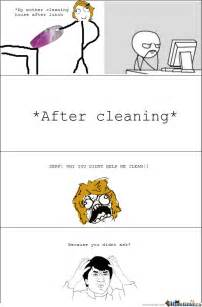 Cleaning My House Meme
