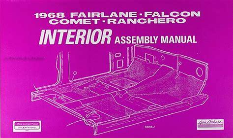 Electrical Assembly Manual Fairlane Falcon Ranchero