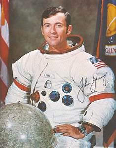 John Young Astronaut Autograph - Pics about space