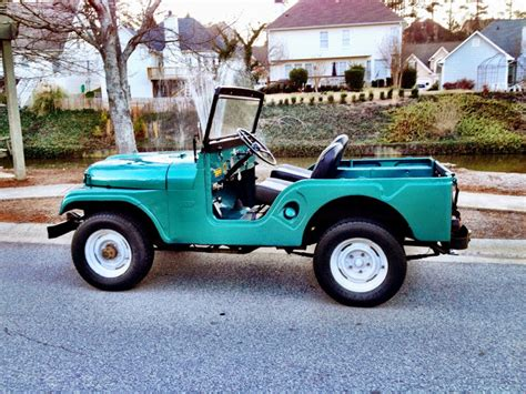 jeep kaiser cj5 spotted restored kaiser jeep cj5 west county explorers