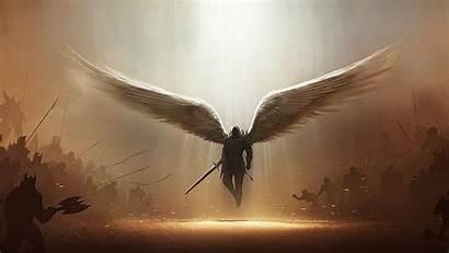 Angel Wallpapers Desktop Angels Background Archangel Wings