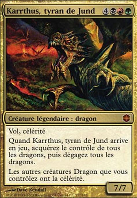 Hellkite Overlord Deck by Lotus Noir Karrthus Tyran De Jund