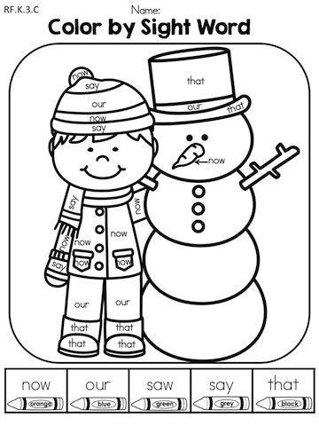 winter literacy worksheets kindergarten kindergarten