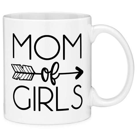 15% off with code zshirtstoday. Mugvana Mom of Girls Arrow Built In Quote Coffee Mug Cup Fun Novelty Gifts | Mugs, Coffee mugs ...