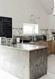 Küche Aus Beton : k chengestaltung ideen so gestalten sie eine k che mit kochinsel ~ Sanjose-hotels-ca.com Haus und Dekorationen