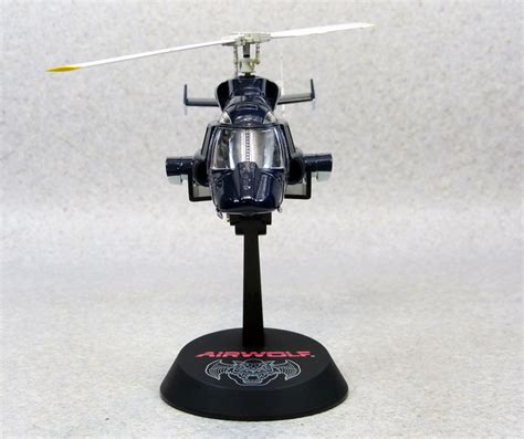 Airwolf 1/48 Normal Tv Cobalt Blue Aoshima Diecast