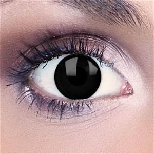 Blackout Contact Lenses