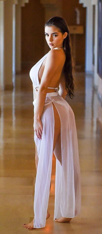 Demi Rose Stuns In Eye Watering White Bikini Emmanuel S Blog