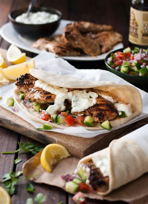 gyros recipe greek chicken gyros with tzatziki recipetin eats