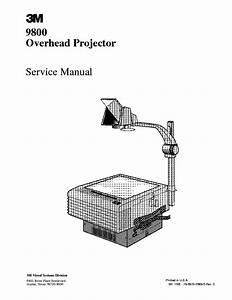 3m visual systems division 9800 overhead projector sm With pdf document overhead