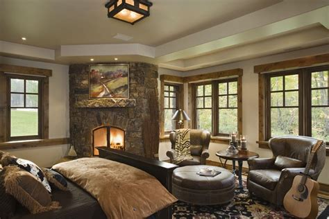 Home Design Bedroom Rustic House Design In Western Style Ontario Residence Digsdigs