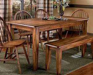 Dining, Room, Old, And, Vintage, Country, Style, Dining, Room, Sets, With, Varnish, Wooden, Dining, Table, And