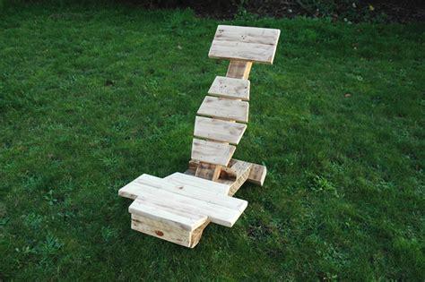 chaise palette chaise en bois de palette ukbix