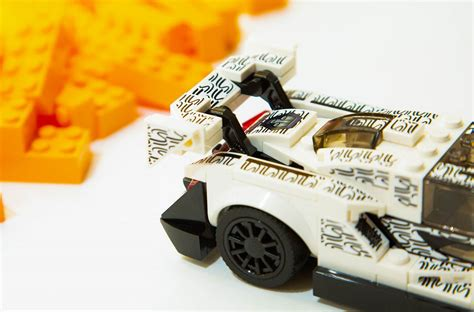 mclaren teases  lego champions senna  london toy store