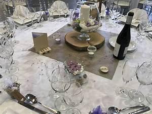 Decoration De Table De Mariage : d coration de table pour mariage th me champ tre parme ~ Melissatoandfro.com Idées de Décoration