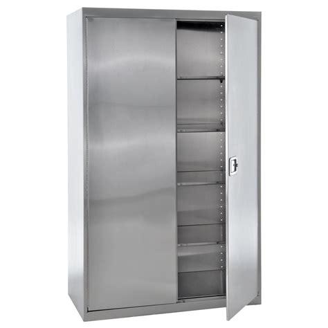 Steel Cupboard by Edsal 48 In W X 78 In H X 24 In D Steel Freestanding