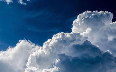Foamy Clouds In The Sky Photography Light Sky Cloud Hd
