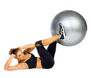 ABS Workout with Stability Ball