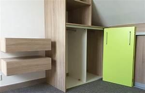 Faire Dressing Dans Une Chambre : faire un placard dans une chambre 4 un dressing dans ~ Premium-room.com Idées de Décoration