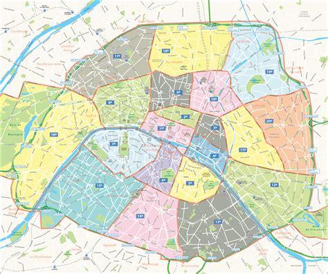 Carte Departement Parisien by Info Arrondissements Carte Voyages Cartes