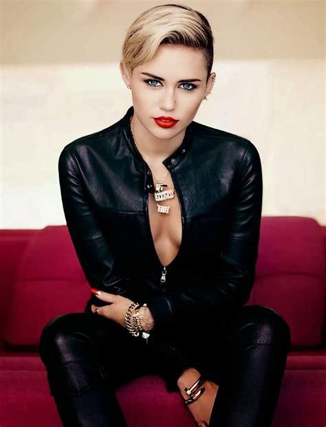 Miley Cyrus in Fashion Magazine, November 2013 Issue ...