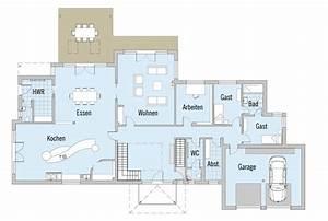 Moderne Häuser Mit Grundriss : fertighaus von baufritz haus hauck ~ Bigdaddyawards.com Haus und Dekorationen