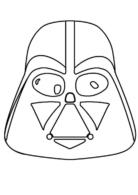 masque wars a fabriquer coloriage masque starwars sur hugolescargot hugolescargot