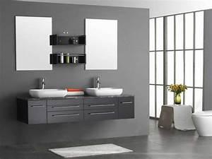 Deco Salle De Bain Gris : peinture salle de bain 80 photos qui vont vous faire craquer ~ Farleysfitness.com Idées de Décoration