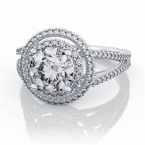 wedding rings ring mountings for large stones ring With wedding ring settings without stones