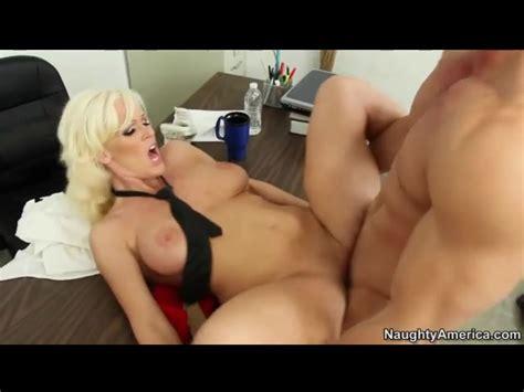 Naked Bleach Blonde Hottie Has Office Hardcore Alpha Porno