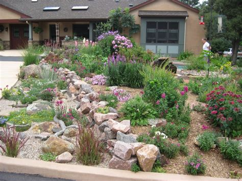 front bed landscaping ideas front yard creative ideas dry creek bed from down spout through front yard google search