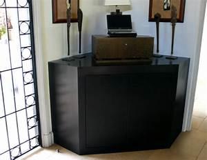 Meuble D Angle Moderne : meuble salon d angle maison design ~ Teatrodelosmanantiales.com Idées de Décoration