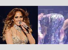 Jennifer Lopez Splits Pants During