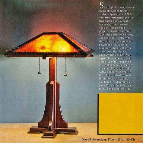 prairie table lamp plans woodworking plans table lamp