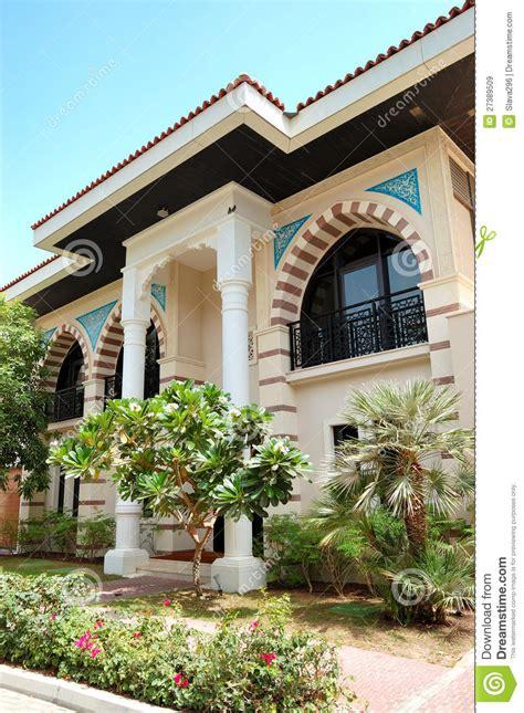 arabic style modern villa  luxury hotel stock image image  travel united