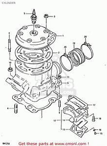 Suzuki Rm125 1981  X  Cylinder