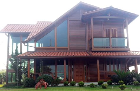 Casas De Madeira casas de madeira 187 fazcasa