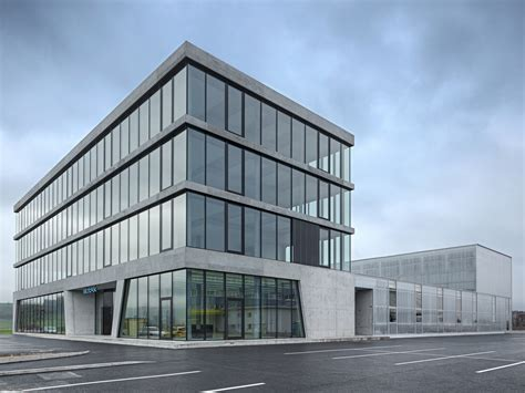Neubau Büro Und Produktionsgebäude Hauptsitz Sotax Ag