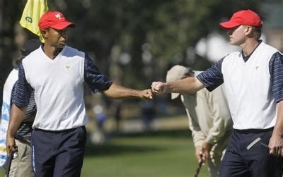 Presidents Cup Golf | United States Tiger Woods, left, and ...
