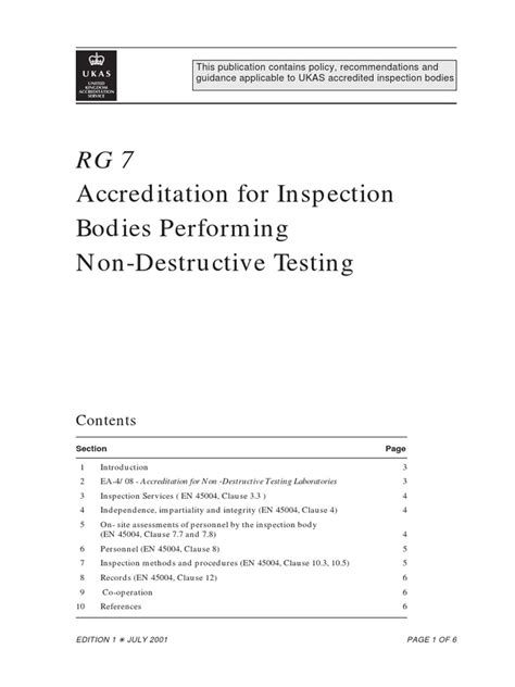 RG7.pdf | Nondestructive Testing | Evaluation
