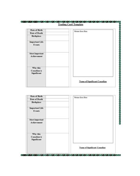 It's everything you need to lay out your ballfield like a pro. 018 Printable Baseball Card Template Ideas Trading Wondrous within Baseball Card Size Template ...
