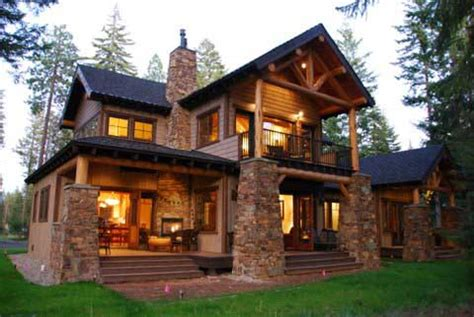 Colorado Style Homes Mountain Lodge Style Home Plans