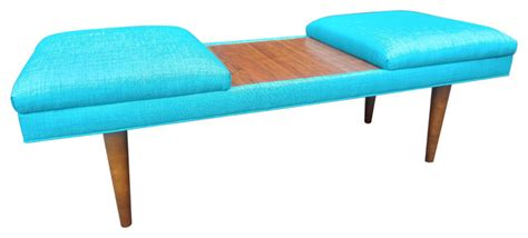 teal ottoman coffee table mid century modern coffee table ottoman retro teal